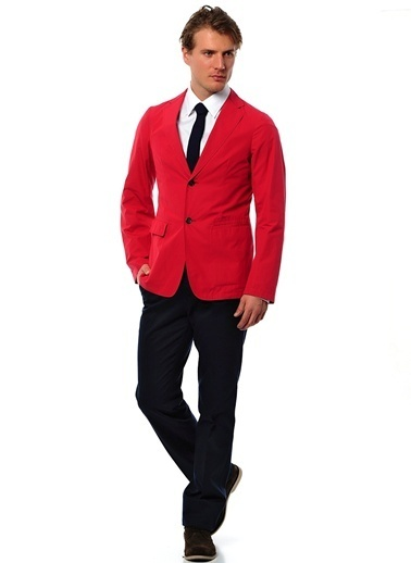 Jil Sander Ceket Kırmızı